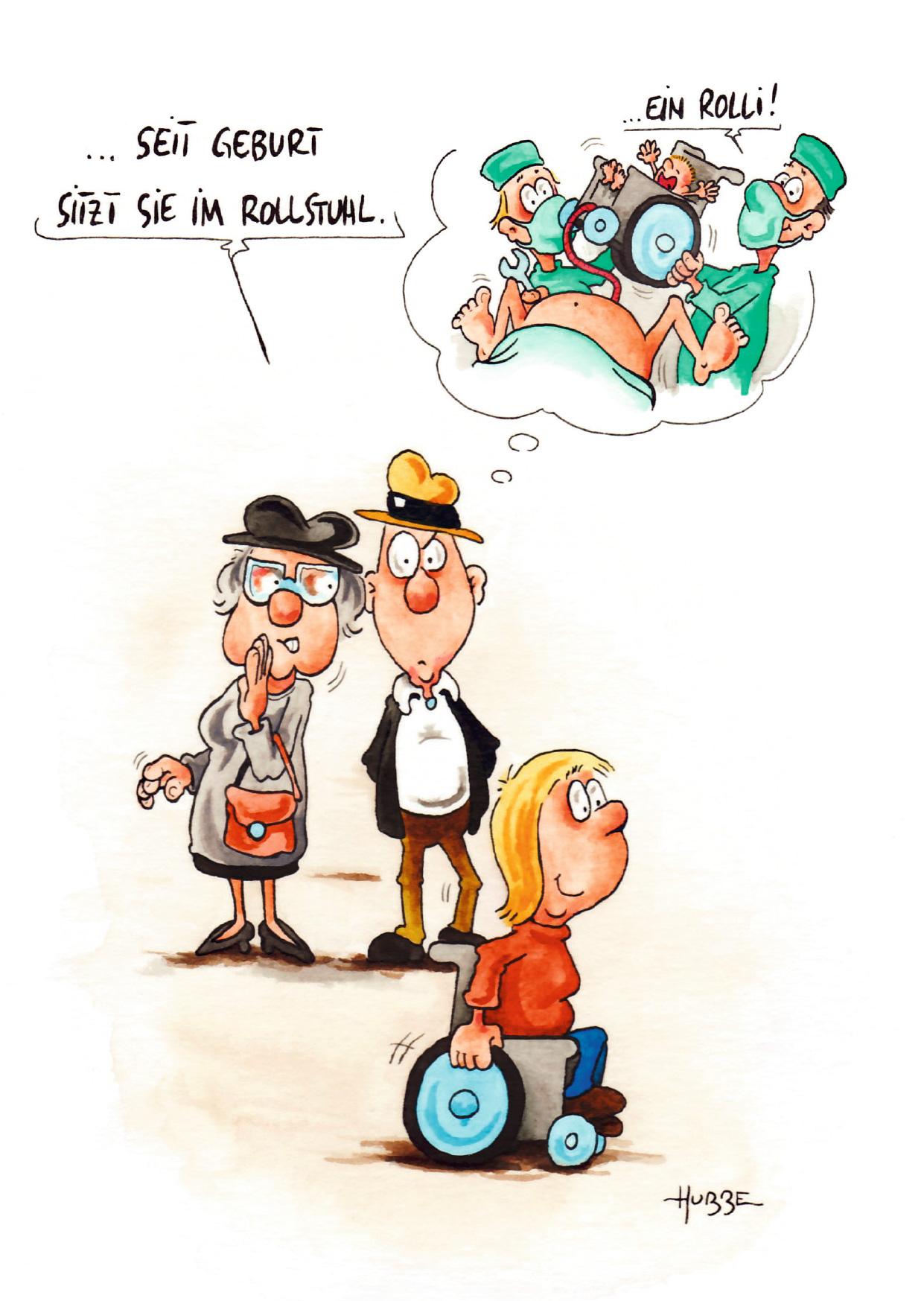 Aktuelles Hubbe Cartoons