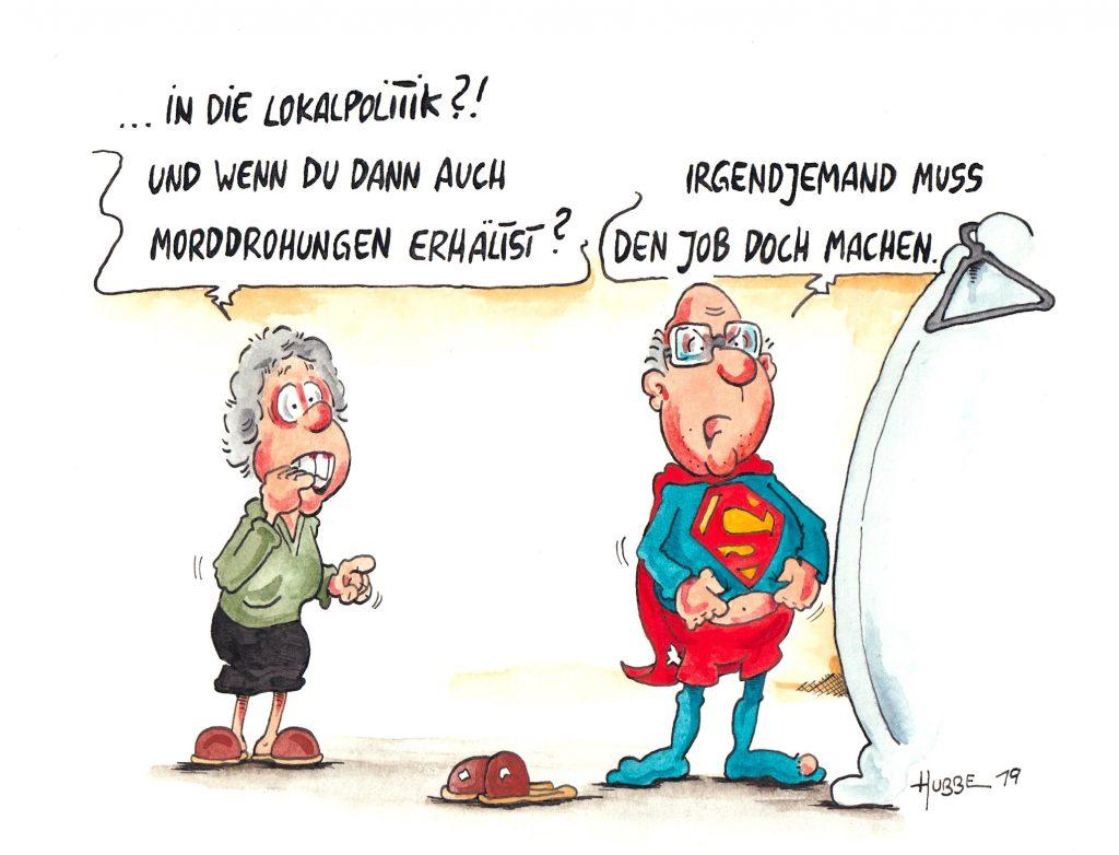 Karikatur des Tages 20 06 19   HUBBE Cartoons