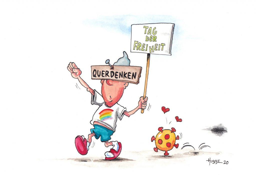 Karikatur des Tages 02.08.20 | HUBBE Cartoons